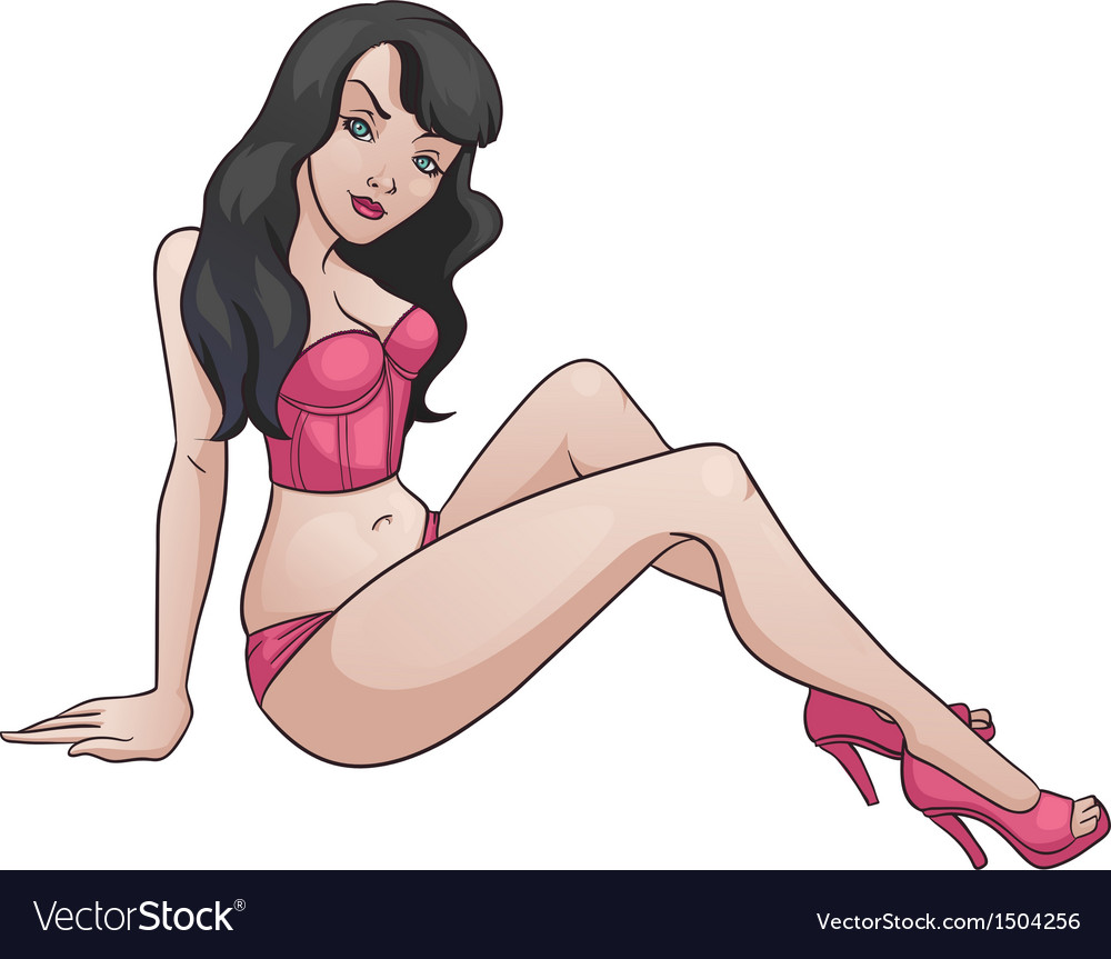 Sexy lady vector | Price: 3 Credit (USD $3)