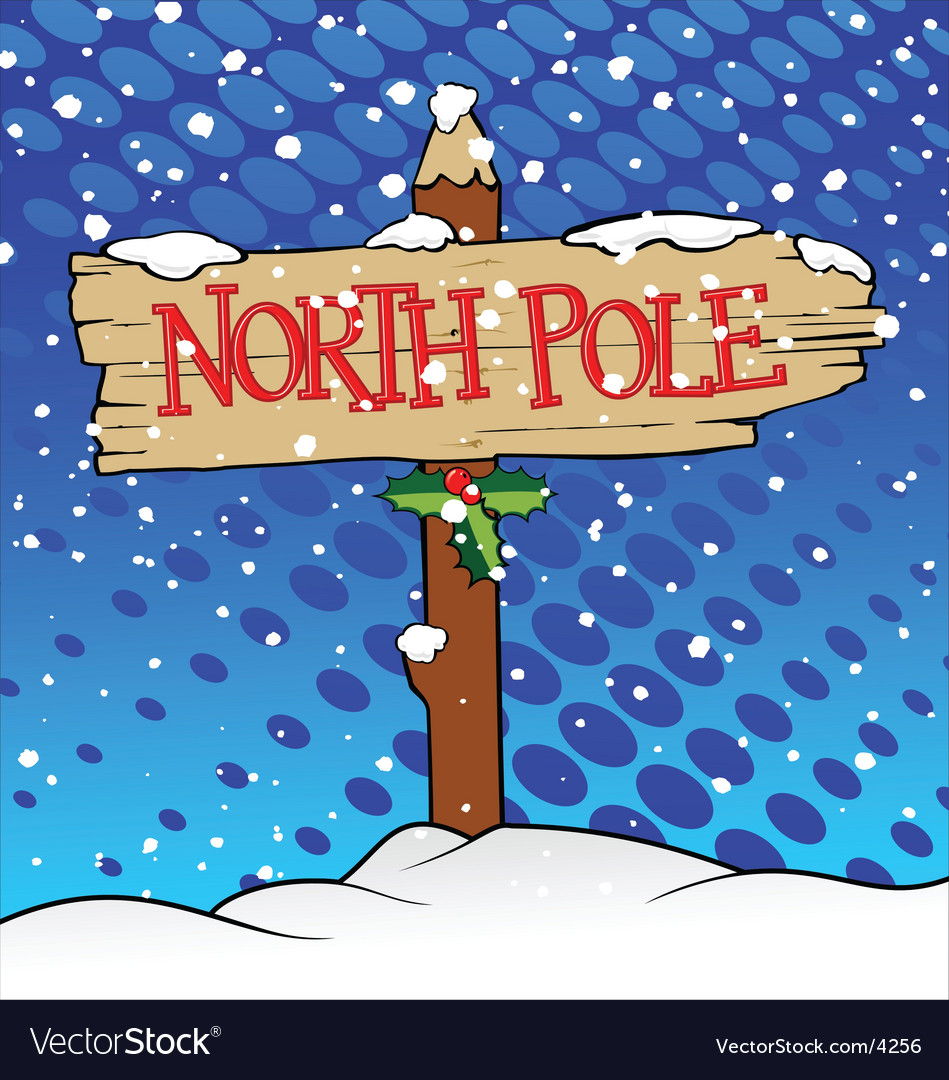Ugly north pole vector | Price: 1 Credit (USD $1)