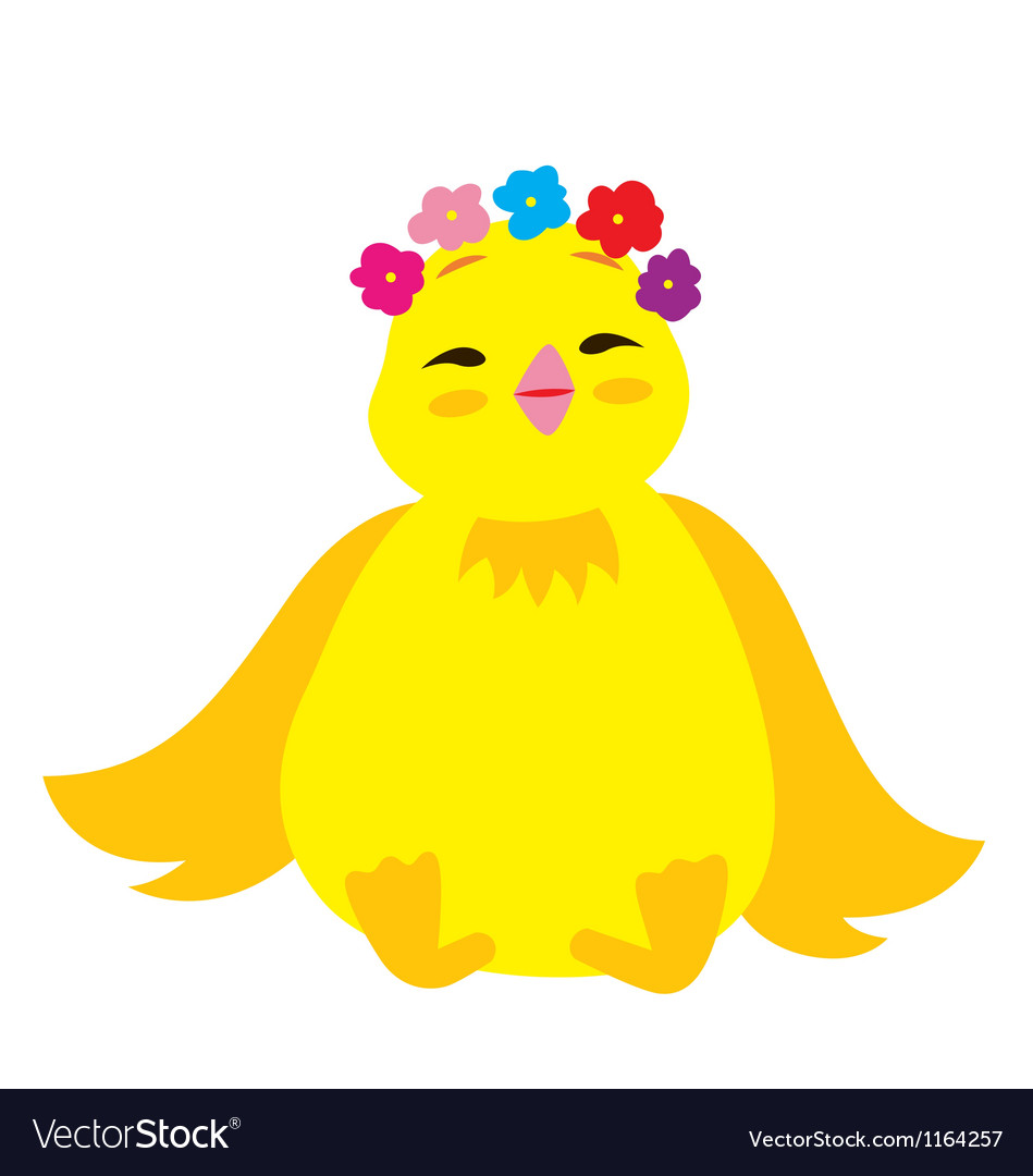 Cute chick 3 vector | Price: 1 Credit (USD $1)