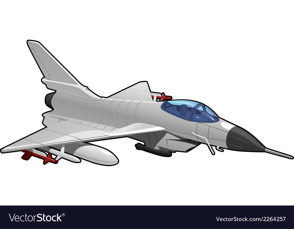Fighter jet vector | Price: 1 Credit (USD $1)