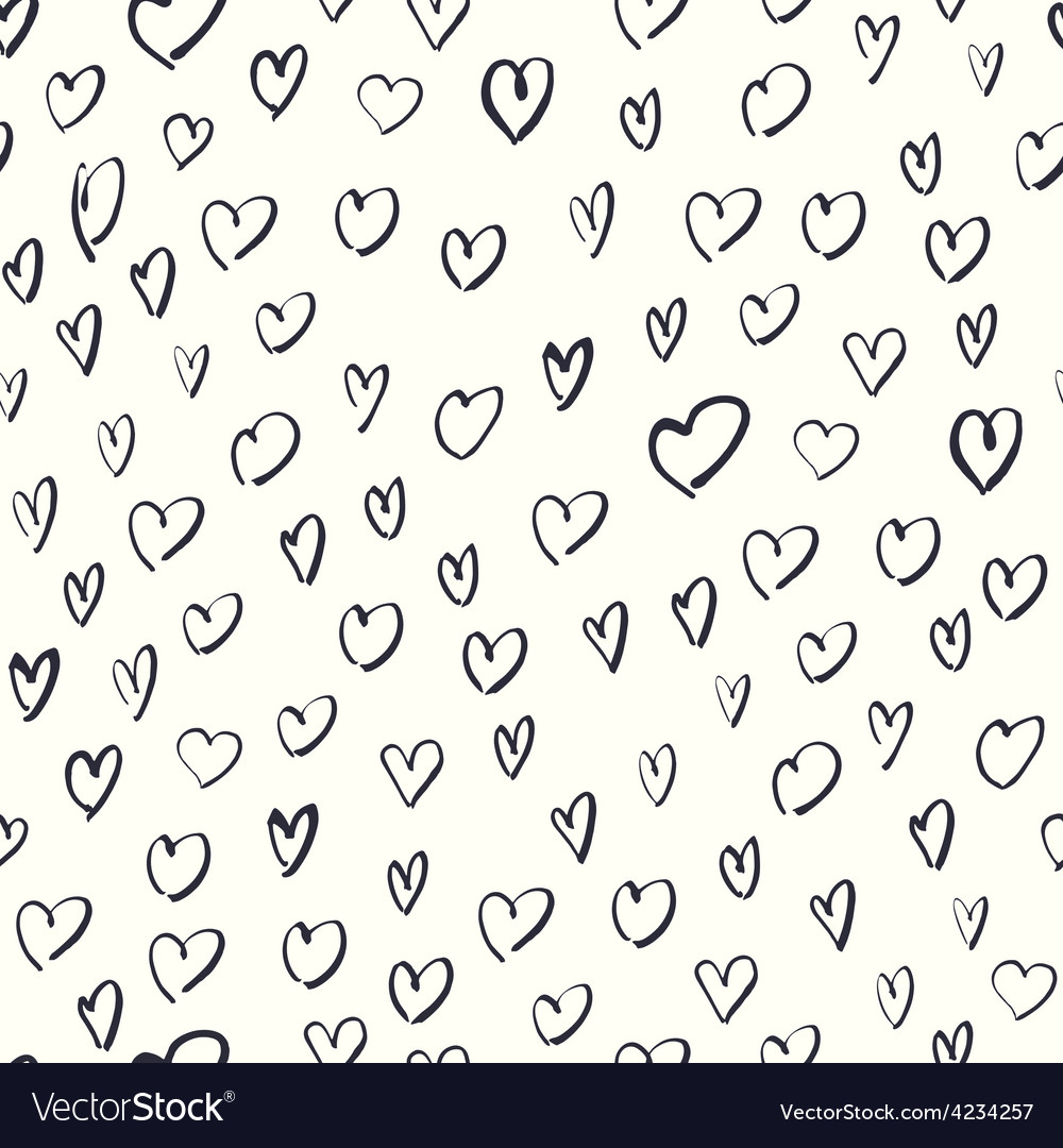 Heart shaped pattern vector | Price: 1 Credit (USD $1)