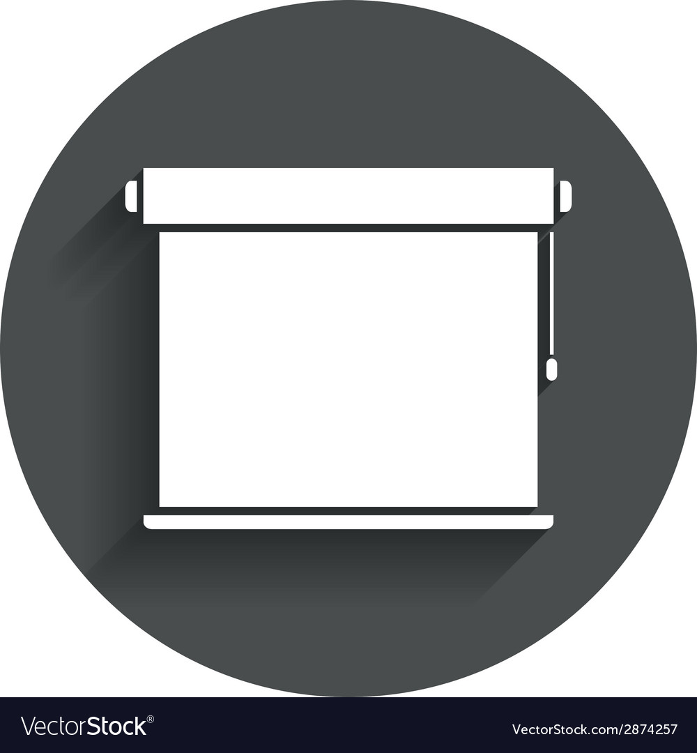 Louvers rolls sign icon window blinds jalousie vector | Price: 1 Credit (USD $1)