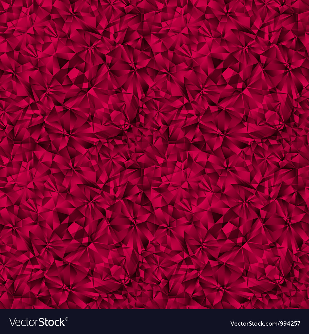 Ruby gem texture seamless pattern vector | Price: 1 Credit (USD $1)