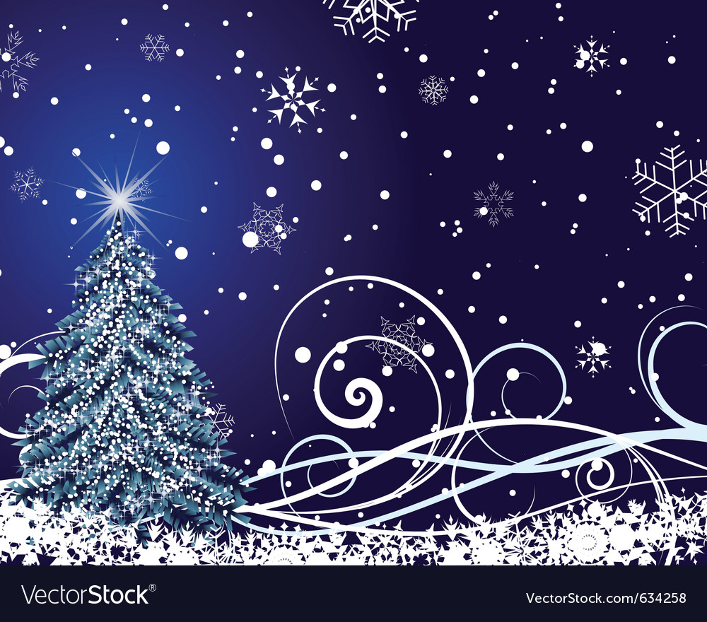 Beautiful christmas new year card vector | Price: 1 Credit (USD $1)