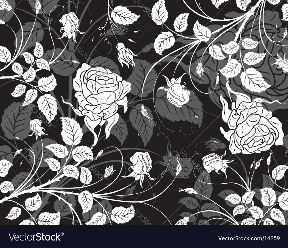 Background floral vector | Price: 1 Credit (USD $1)