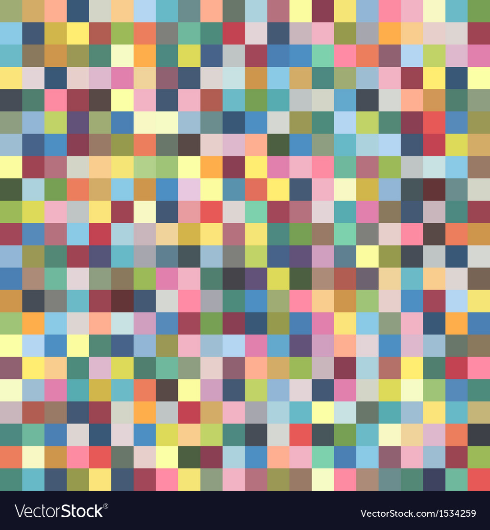 Colorful pixel pattern vector | Price: 1 Credit (USD $1)