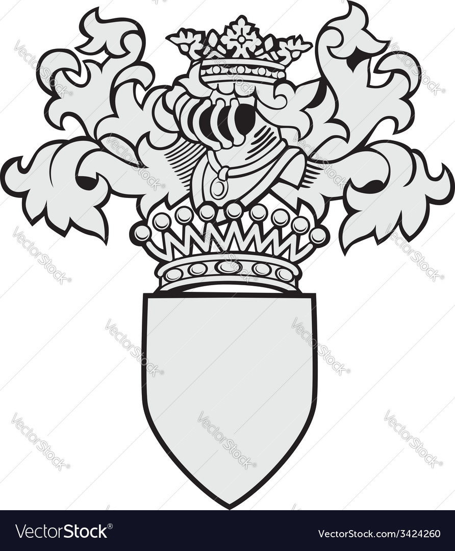 Aristocratic emblem no32 vector | Price: 1 Credit (USD $1)