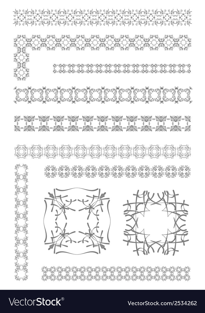 Al 0940 dividers 04 vector | Price: 1 Credit (USD $1)