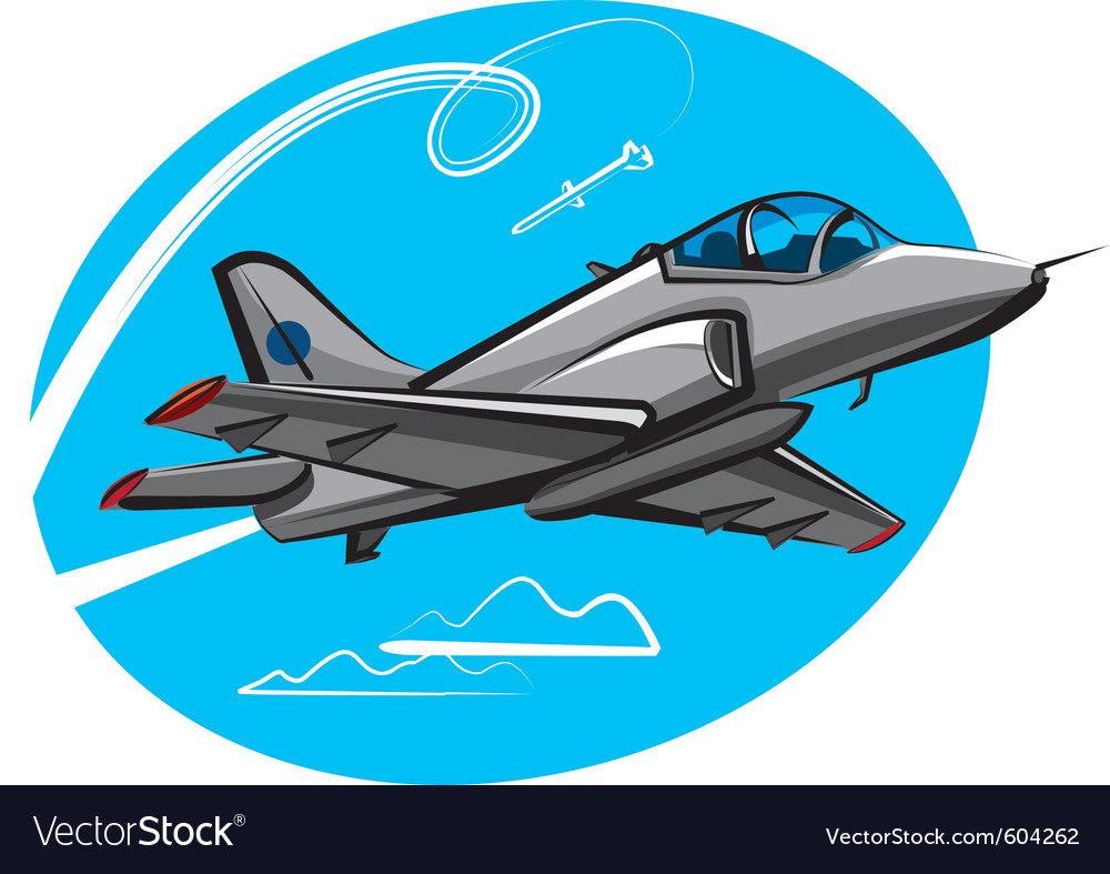 Jet fighter vector | Price: 3 Credit (USD $3)