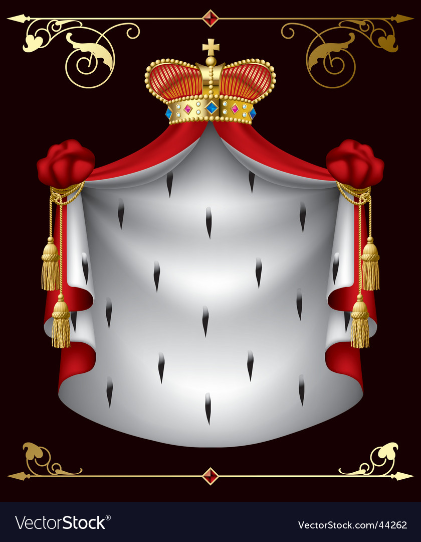 Royal banner vector | Price: 3 Credit (USD $3)