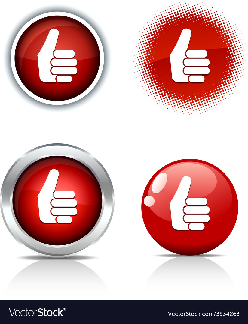 Good buttons vector | Price: 1 Credit (USD $1)