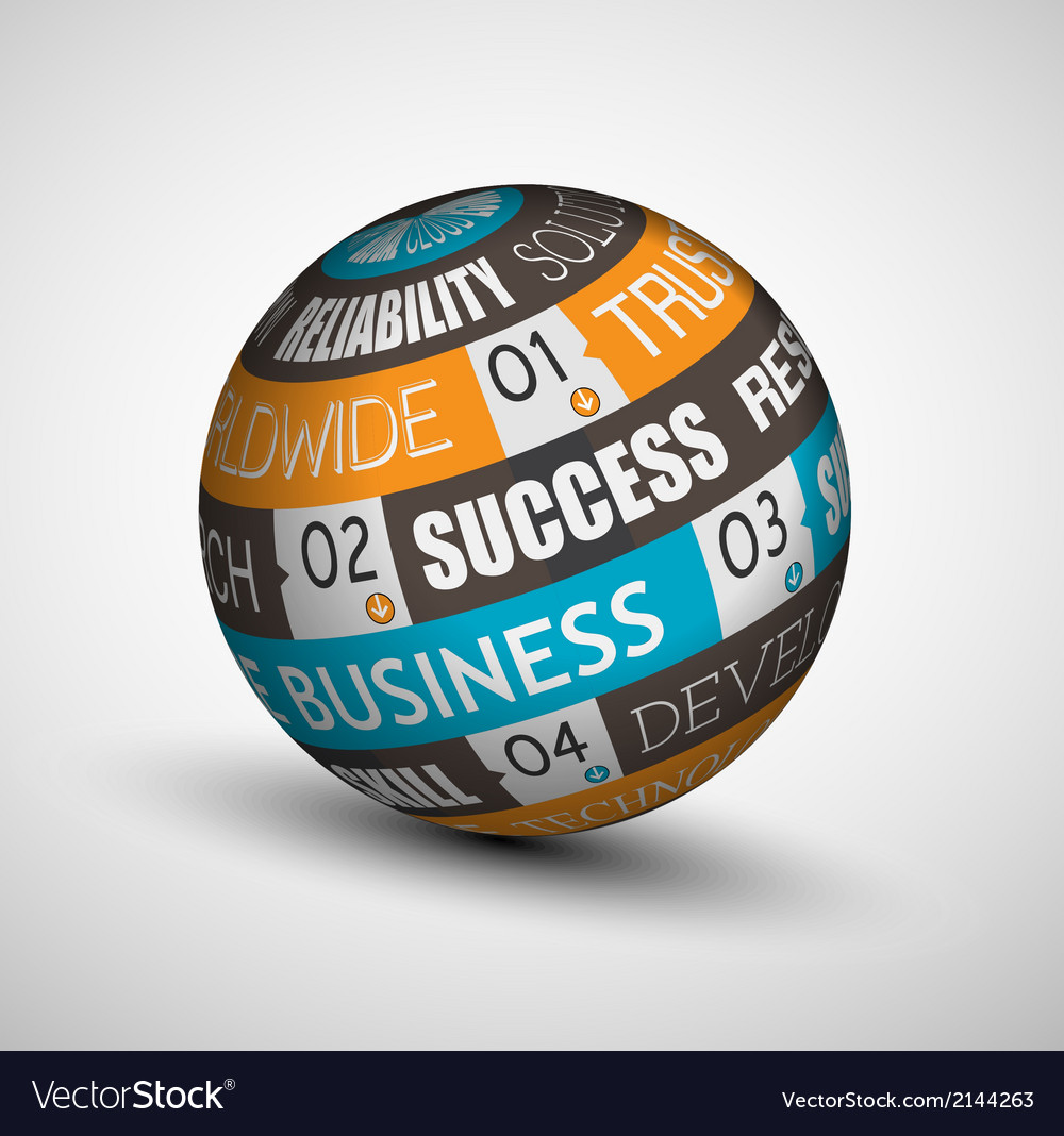 Sphere businessb vector | Price: 1 Credit (USD $1)