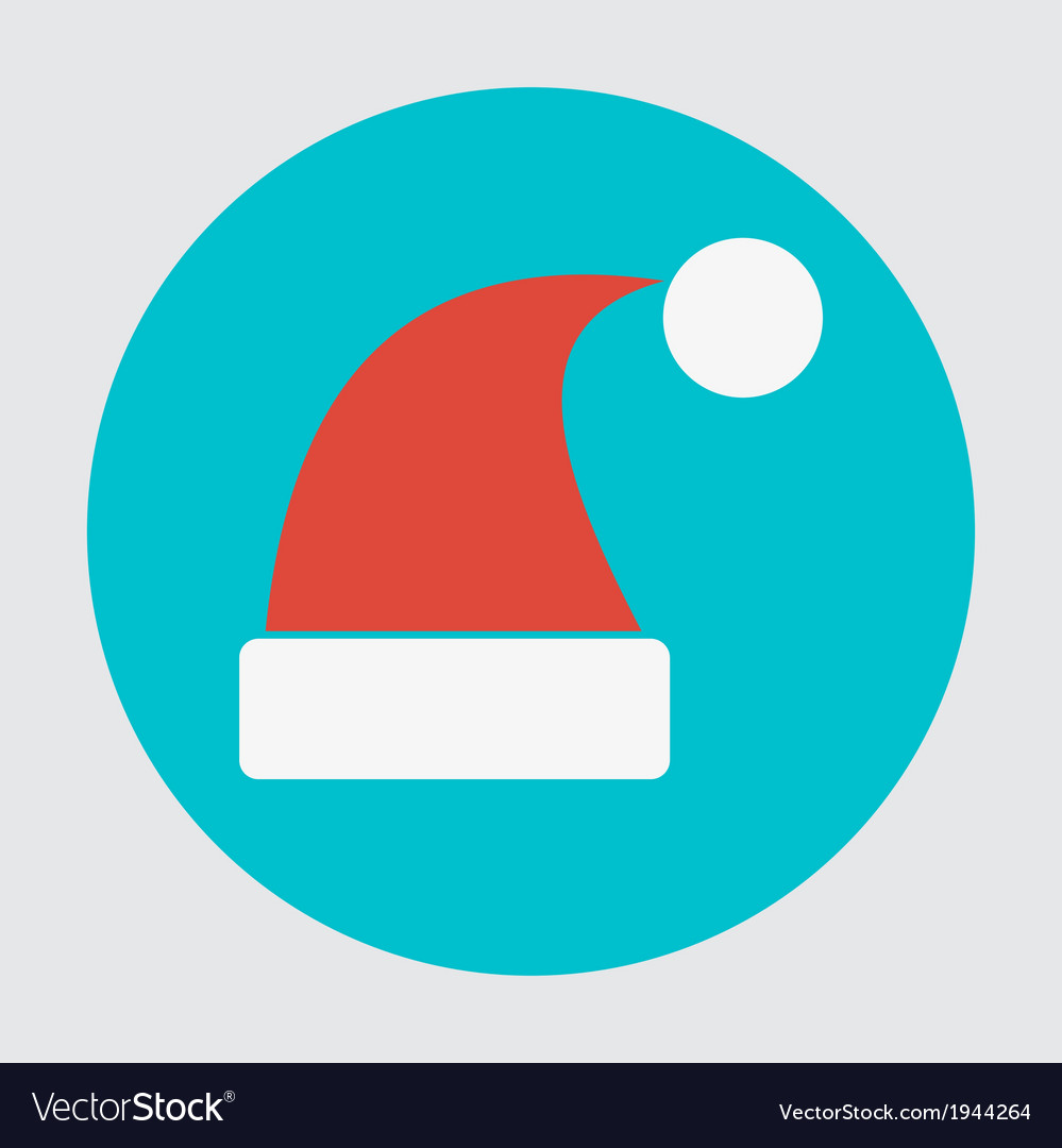Santa hats icon vector | Price: 1 Credit (USD $1)