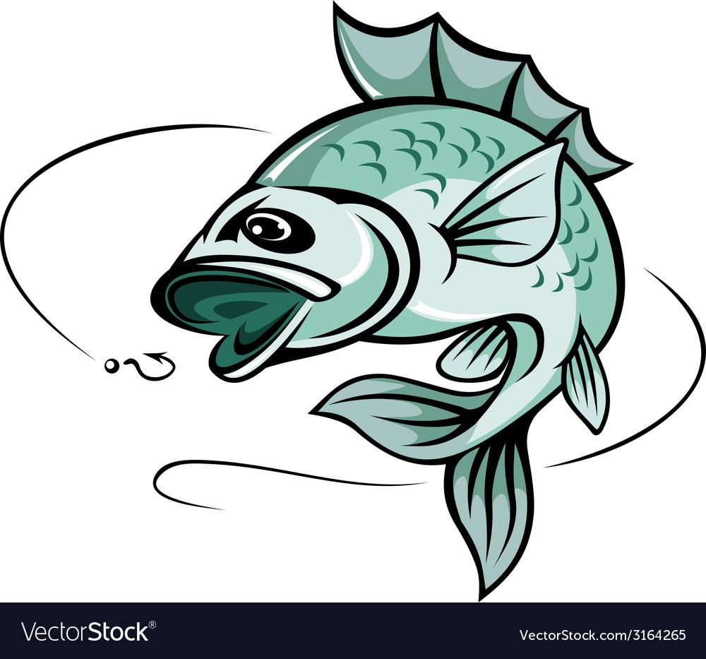 Carp fish vector | Price: 1 Credit (USD $1)