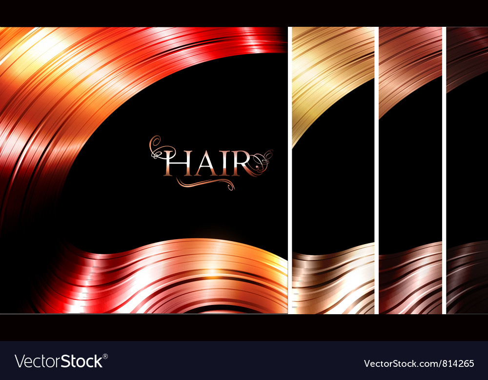 Hair palette vector | Price: 1 Credit (USD $1)