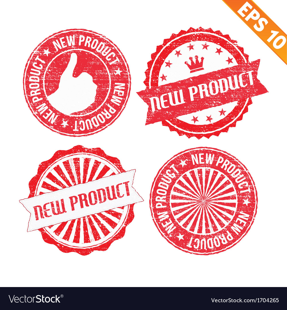 Stamp sticker new product collection - - ep vector | Price: 1 Credit (USD $1)