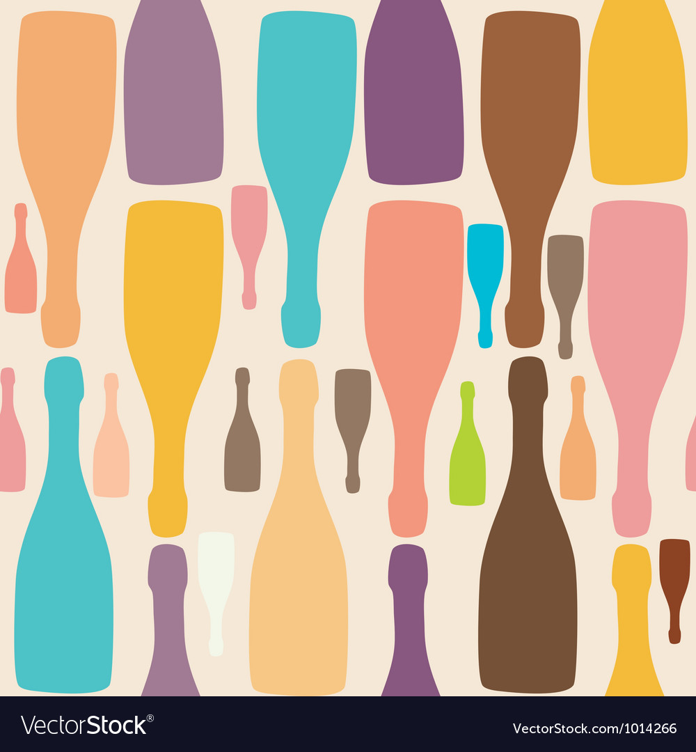 Background with bottles good for restaurant or bar vector | Price: 1 Credit (USD $1)