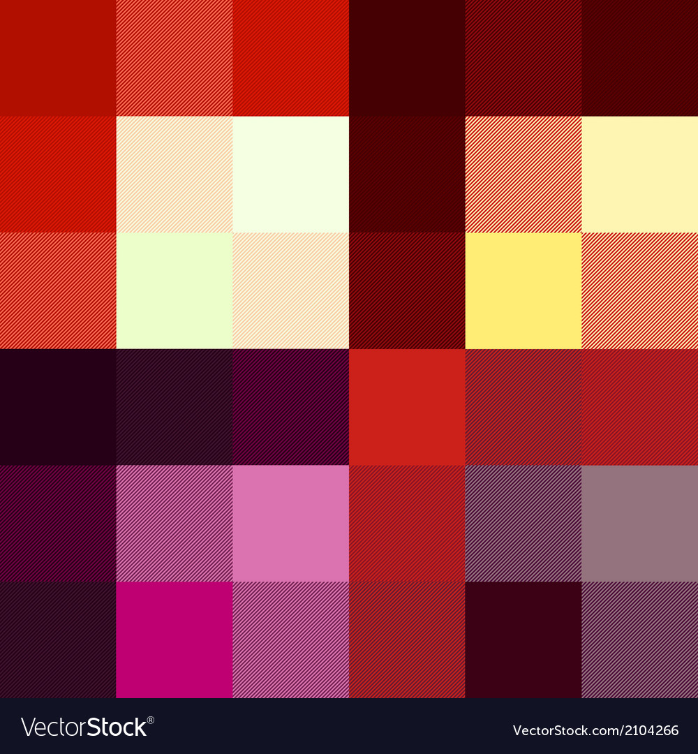 Checkered pattern four red color options vector | Price: 1 Credit (USD $1)