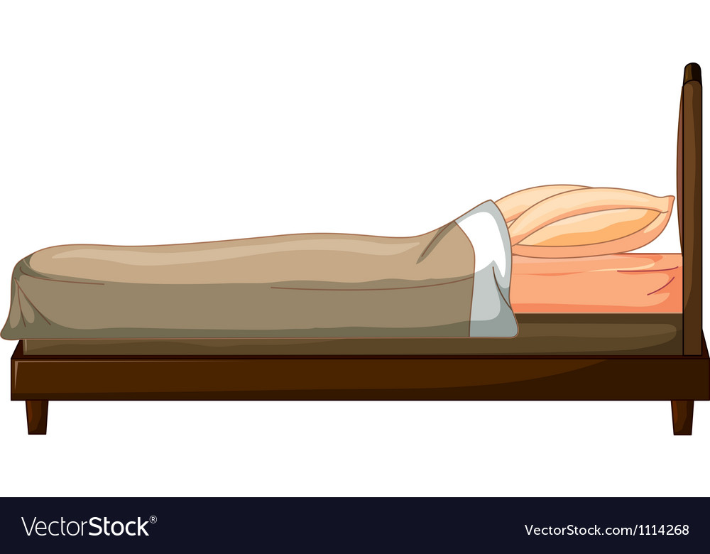 A bed vector | Price: 1 Credit (USD $1)