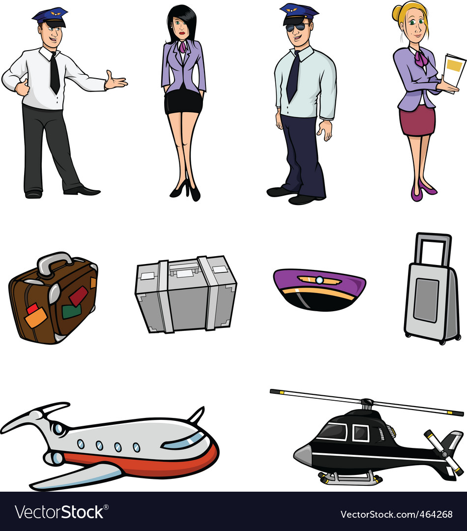 Airport collection vector | Price: 3 Credit (USD $3)