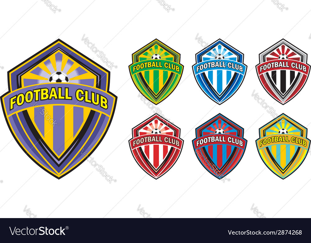 Football club logo vector | Price: 1 Credit (USD $1)
