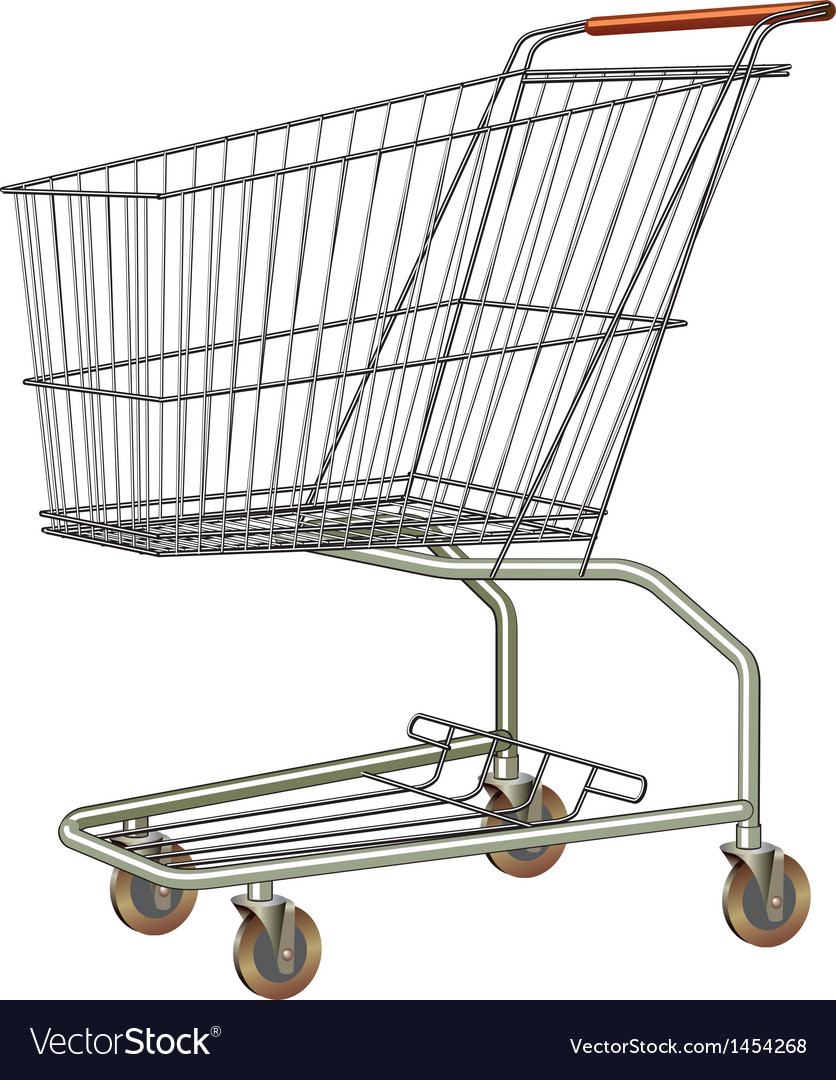 Shopping cart vector | Price: 1 Credit (USD $1)