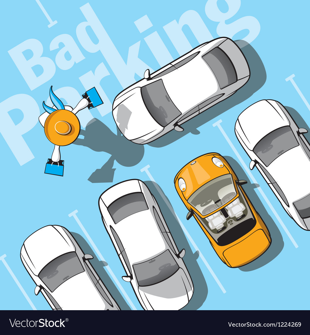 Bad parking vector | Price: 3 Credit (USD $3)