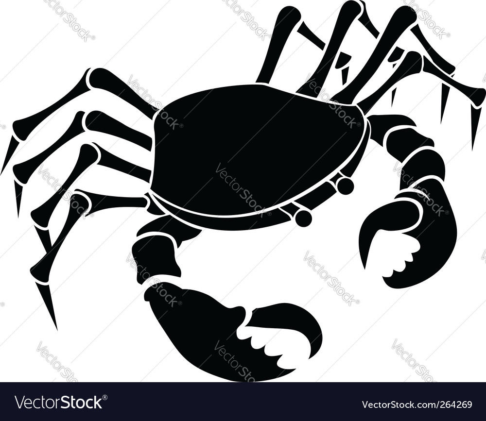 Crab illustration vector | Price: 1 Credit (USD $1)
