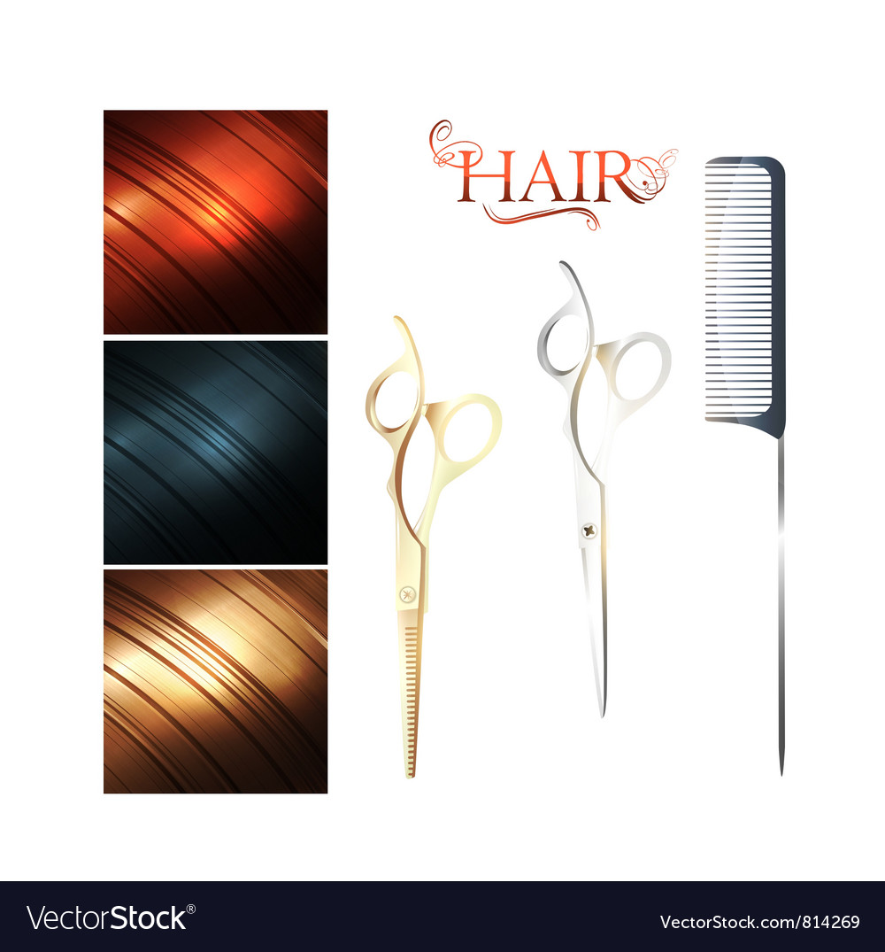 Hair vector | Price: 1 Credit (USD $1)