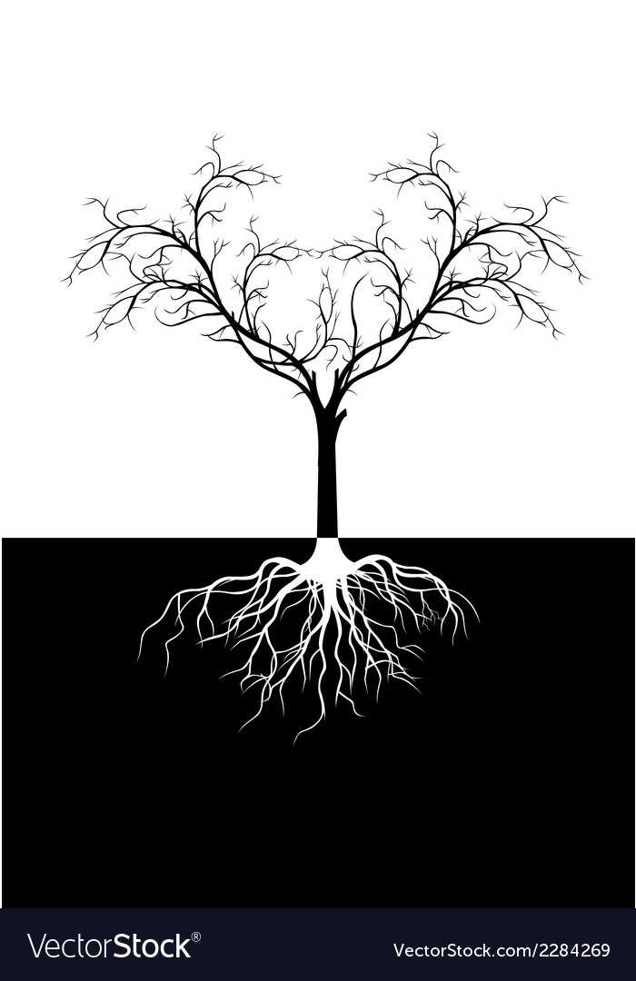 Tree silhouette for you design vector | Price: 1 Credit (USD $1)