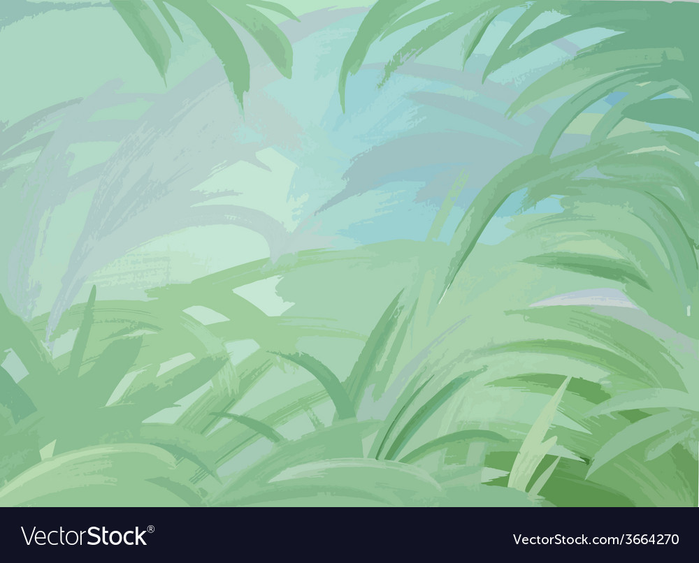 Green leaves background vector   Price: 1 Credit (USD $1)
