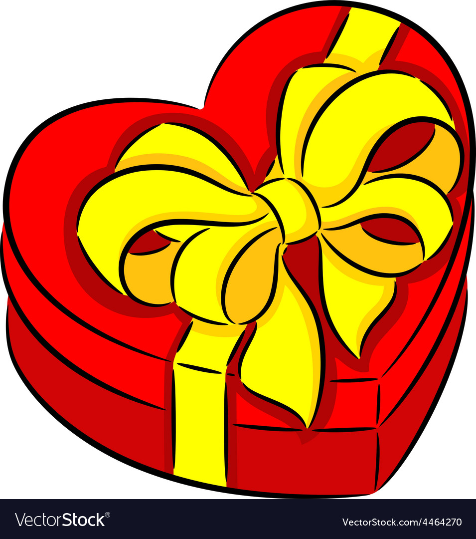 Heart box vector | Price: 1 Credit (USD $1)