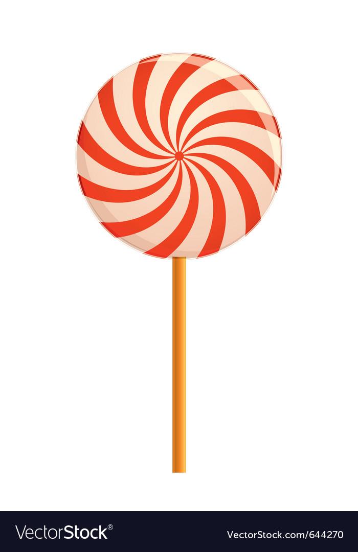 Hypnotizing lollipop vector | Price: 1 Credit (USD $1)