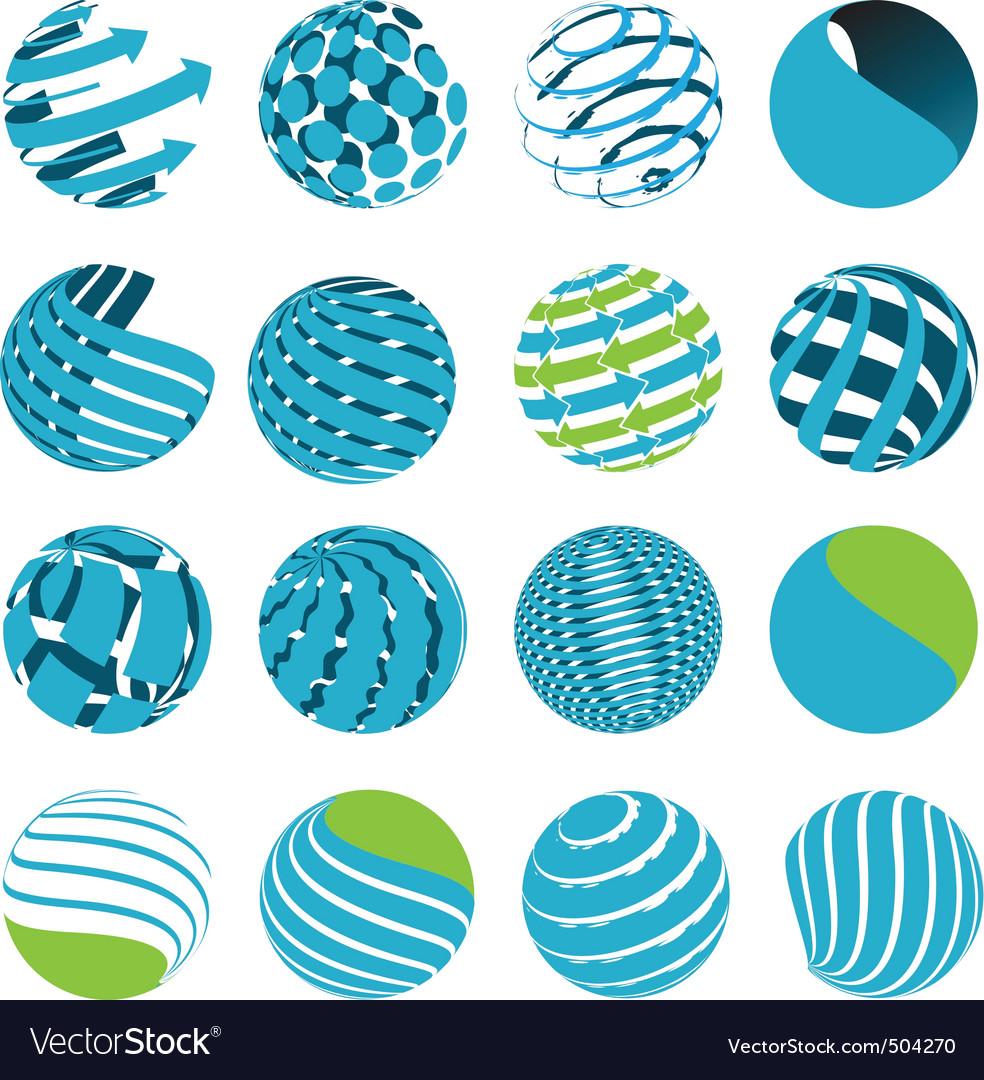 Icons globe vector | Price: 1 Credit (USD $1)