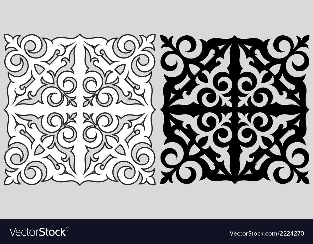 Kazakh ornament vector | Price: 1 Credit (USD $1)