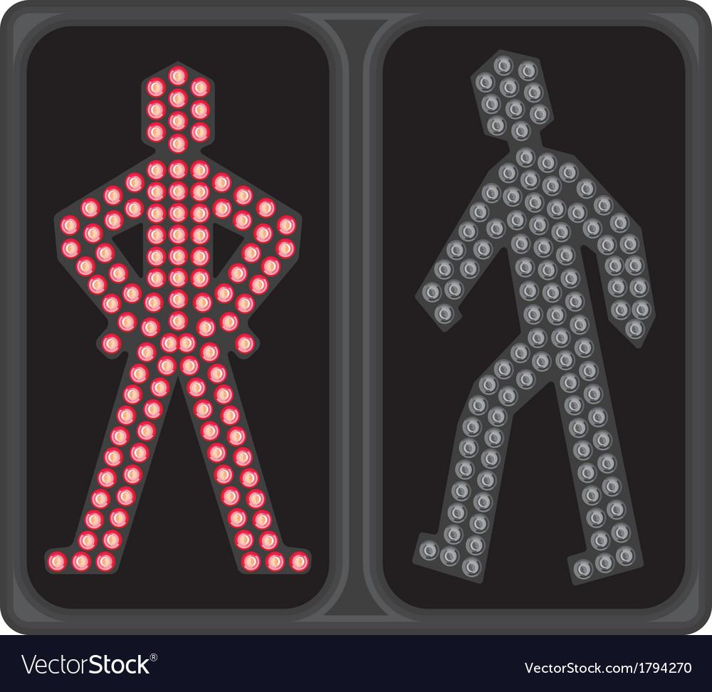 Led semafor zeleno ukljuceno resize vector | Price: 1 Credit (USD $1)