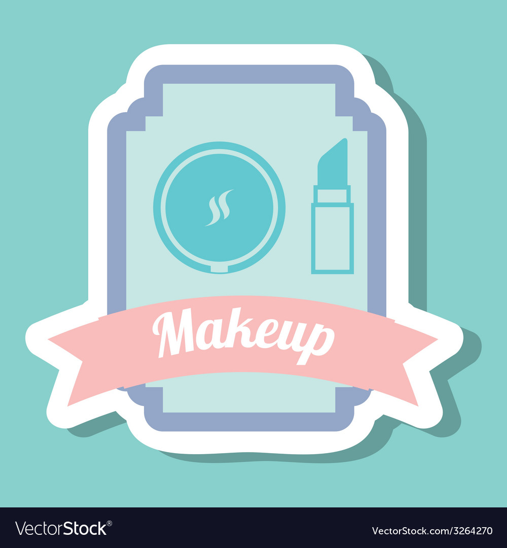 Makeup design vector | Price: 1 Credit (USD $1)
