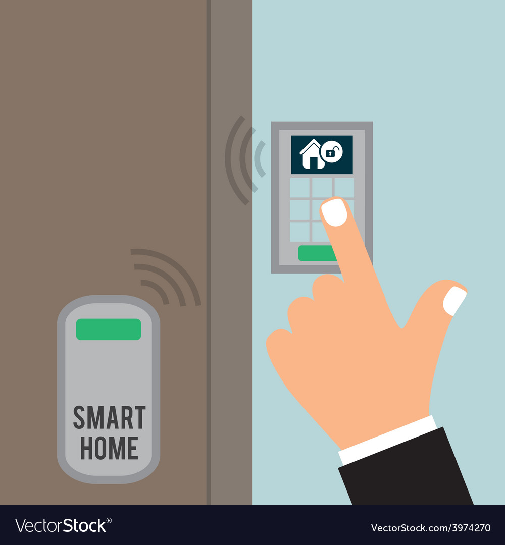 Smart home vector | Price: 1 Credit (USD $1)