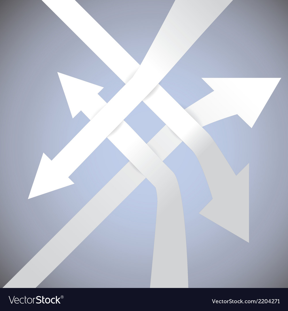 3d arrows vector | Price: 1 Credit (USD $1)