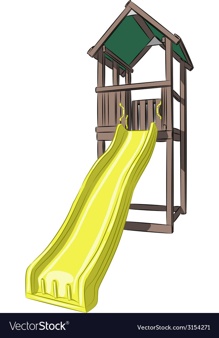 Childrens slide vector | Price: 1 Credit (USD $1)