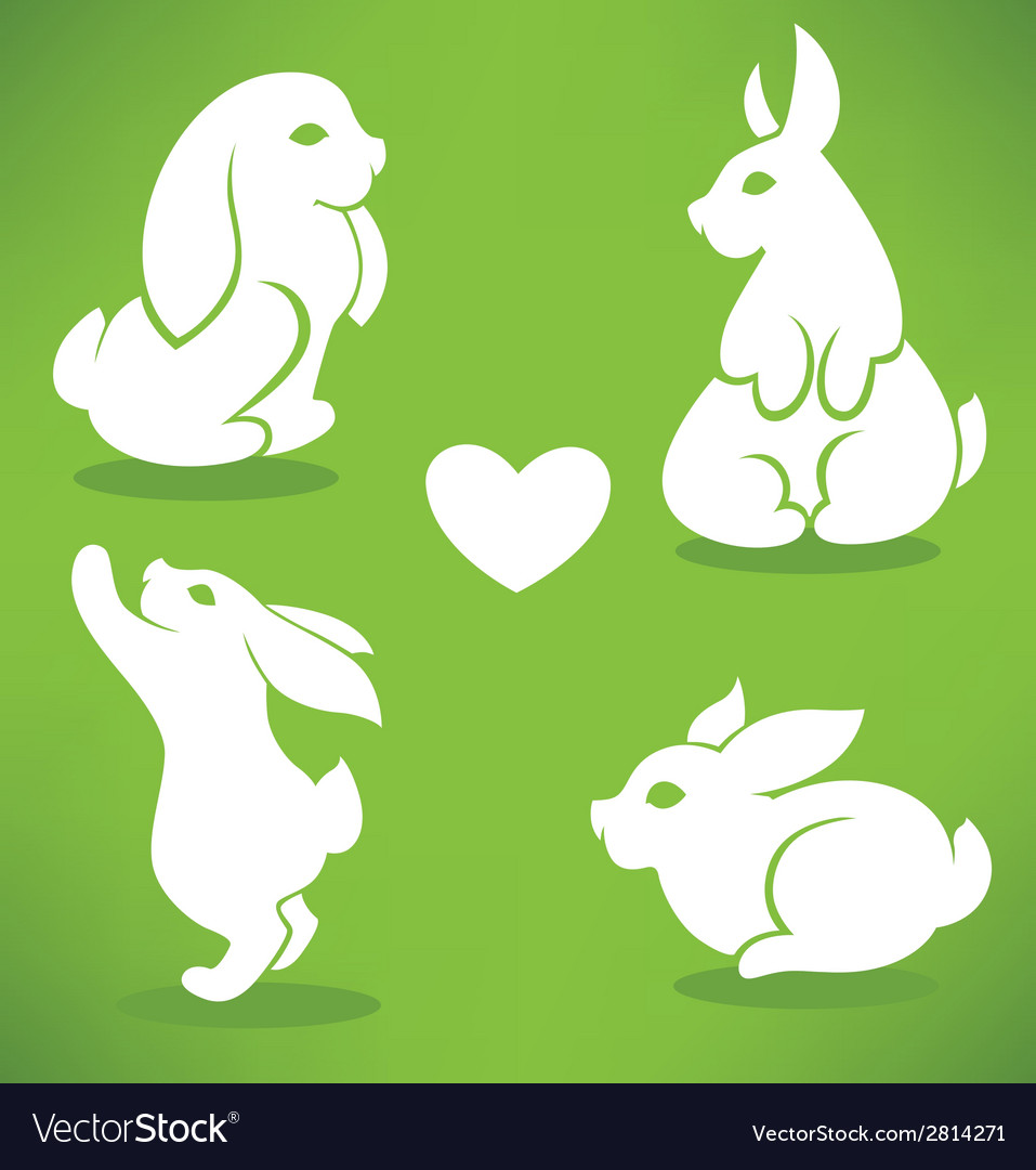 Cute bunny vector | Price: 1 Credit (USD $1)