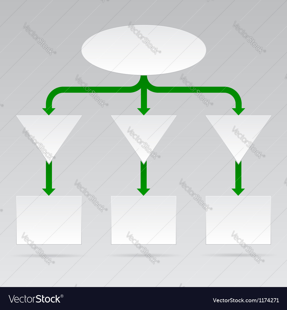 Empty diagram in format vector | Price: 1 Credit (USD $1)