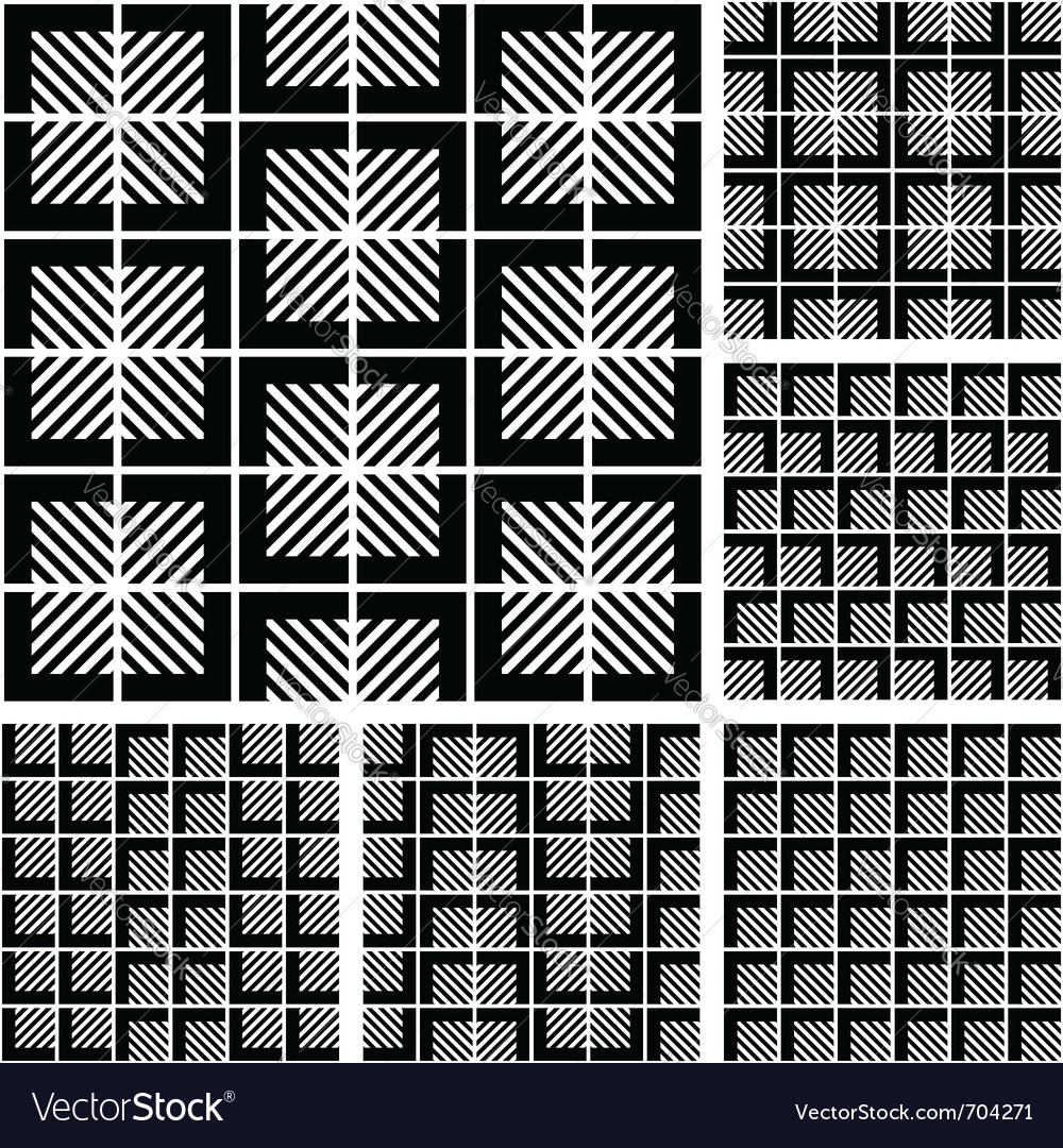 Seamless patterns set vector   Price: 1 Credit (USD $1)
