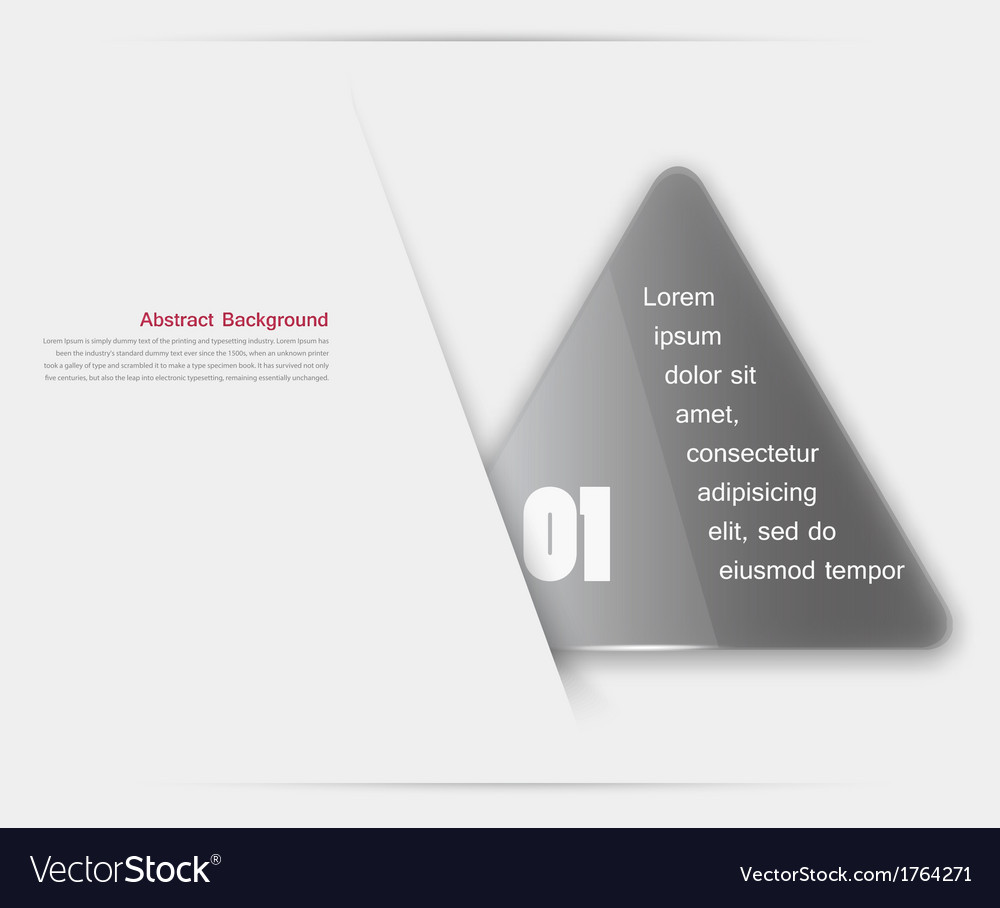 Triangle background color object vector | Price: 1 Credit (USD $1)