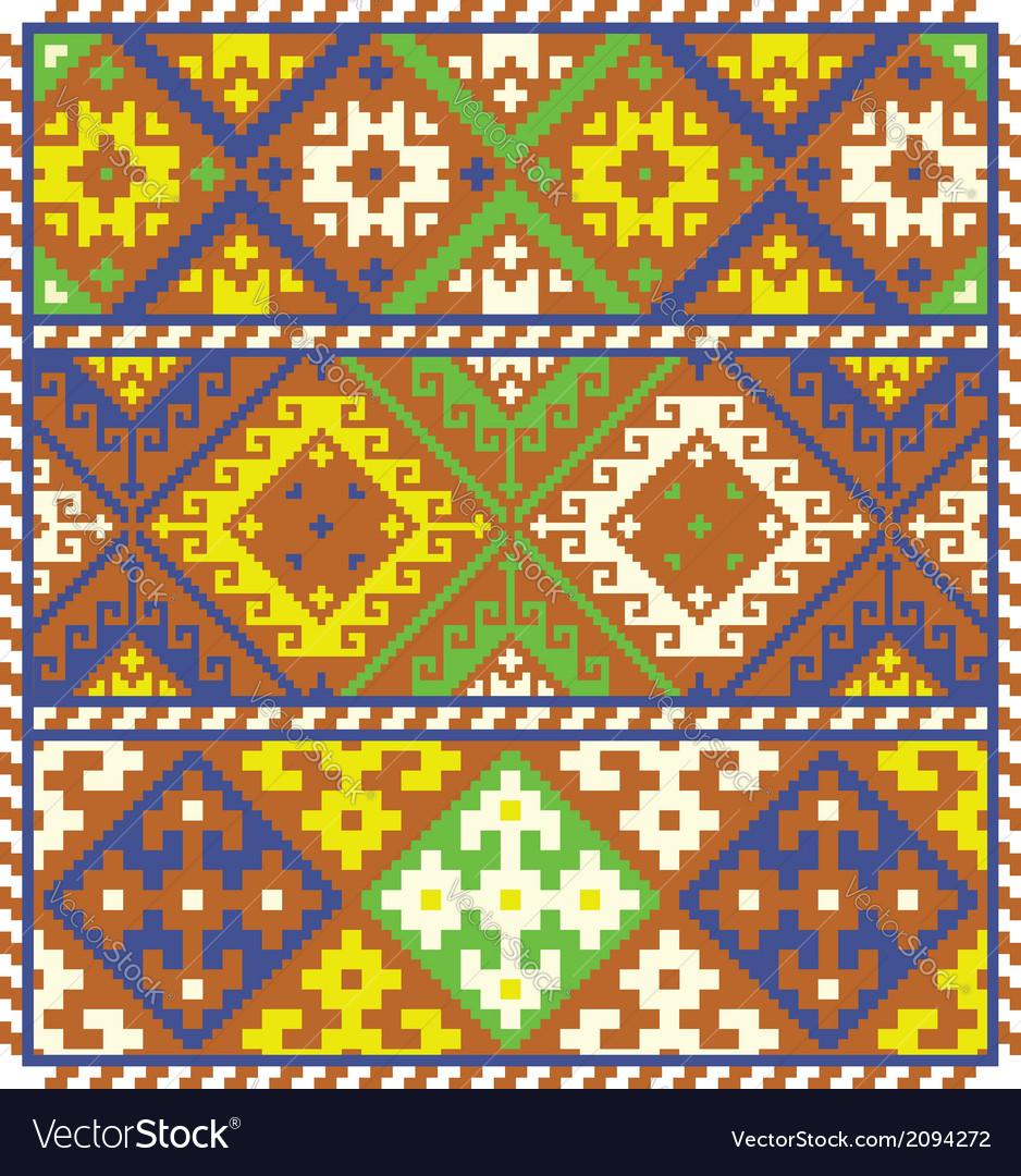 Ethnic ukrainian patterns vector | Price: 1 Credit (USD $1)
