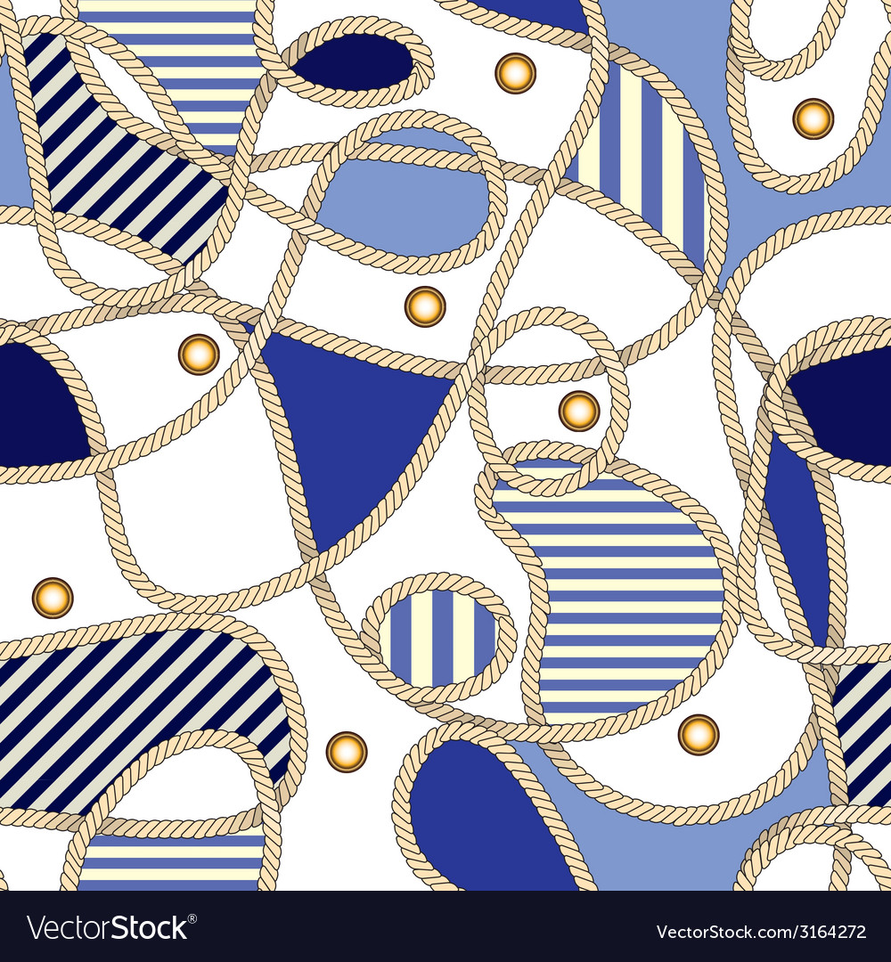 Nautical pattern vector | Price: 1 Credit (USD $1)