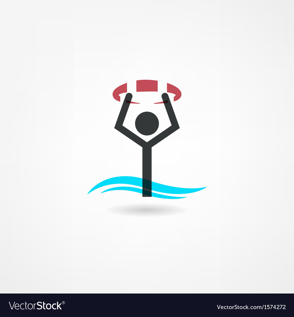 Swim icon vector | Price: 1 Credit (USD $1)
