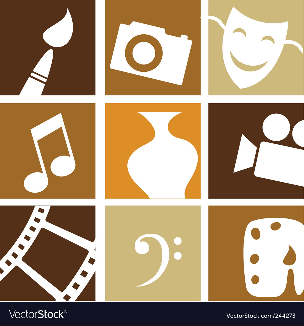 Art entertainment vector | Price: 1 Credit (USD $1)