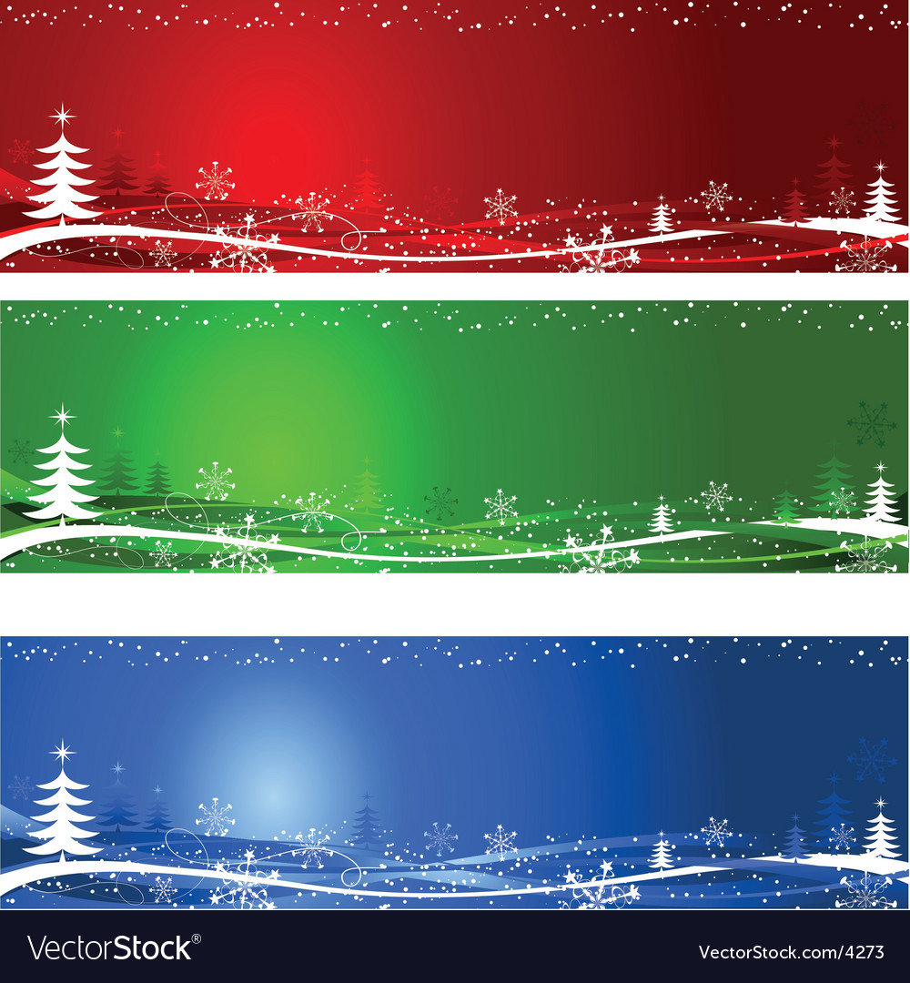 Christmas tree backgrounds vector | Price: 1 Credit (USD $1)