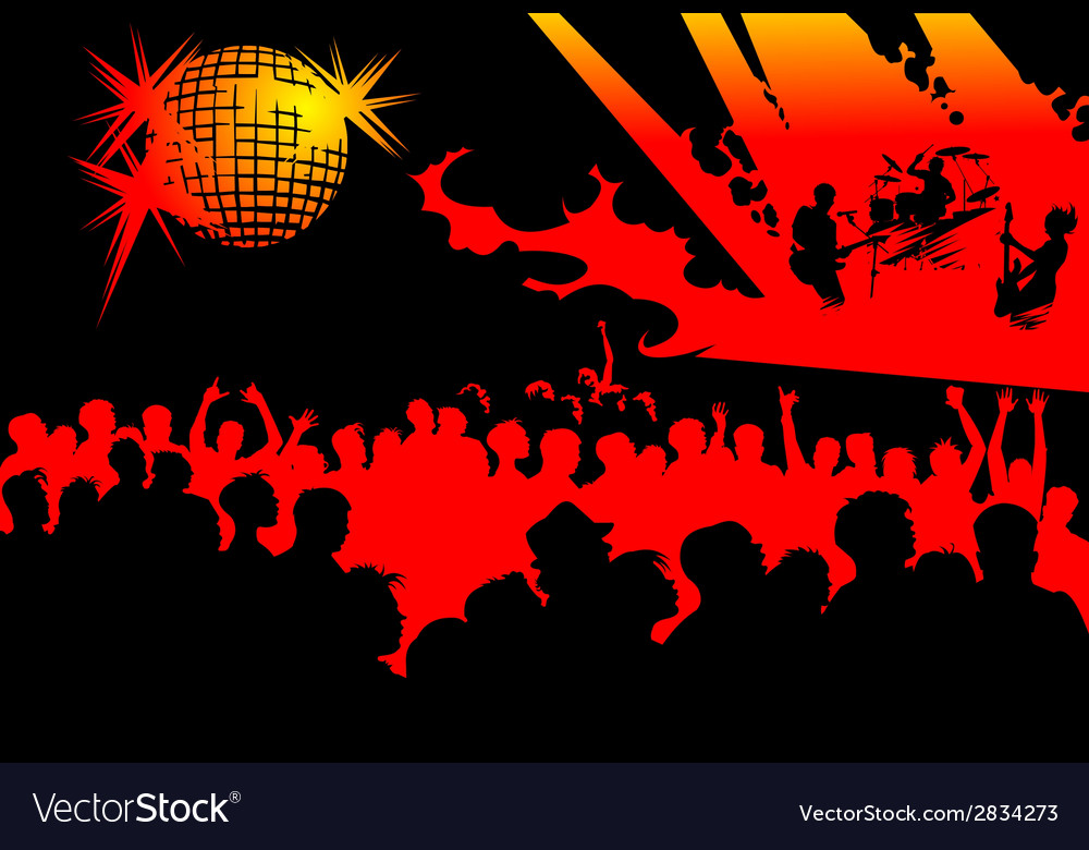 Sold out rock event vector | Price: 1 Credit (USD $1)